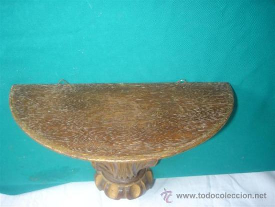 Antigüedades: mensula de madera de castaño - Foto 2 - 31295893