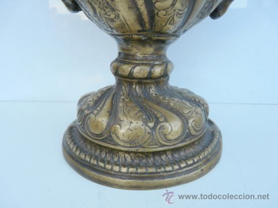Antigüedades: FANTASTICA PIEZA DE BRONCE DEL SIGLO XVIII - 8,5 KILOS DE PESO - Foto 15 - 31311593