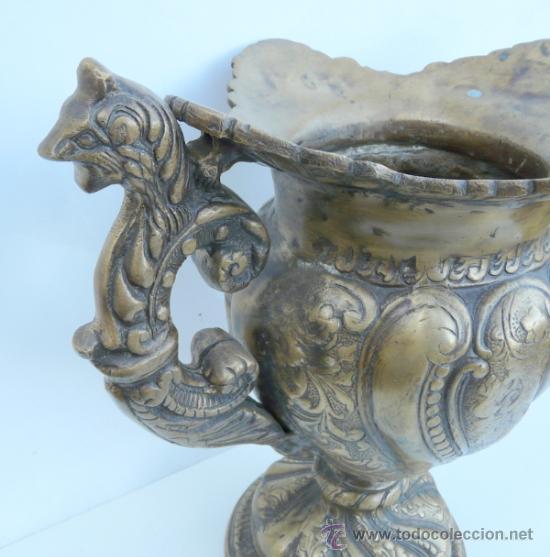 Antigüedades: FANTASTICA PIEZA DE BRONCE DEL SIGLO XVIII - 8,5 KILOS DE PESO - Foto 16 - 31311593