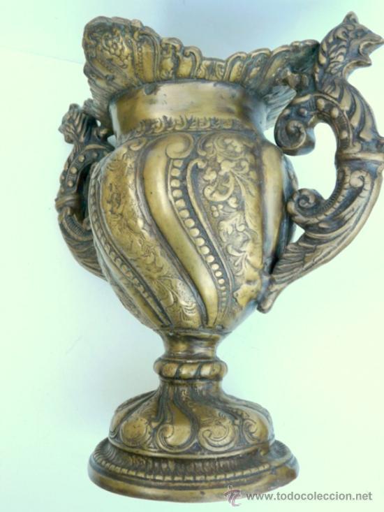 Antigüedades: FANTASTICA PIEZA DE BRONCE DEL SIGLO XVIII - 8,5 KILOS DE PESO - Foto 18 - 31311593