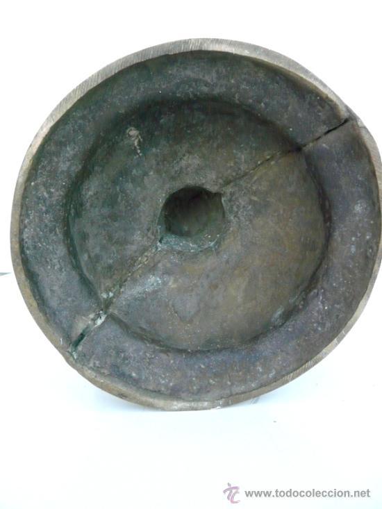 Antigüedades: FANTASTICA PIEZA DE BRONCE DEL SIGLO XVIII - 8,5 KILOS DE PESO - Foto 13 - 31311593