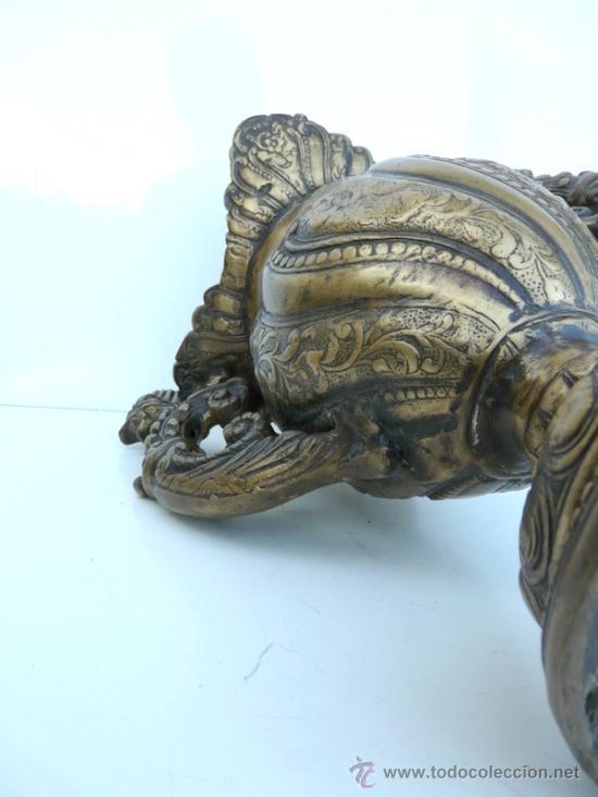 Antigüedades: FANTASTICA PIEZA DE BRONCE DEL SIGLO XVIII - 8,5 KILOS DE PESO - Foto 11 - 31311593