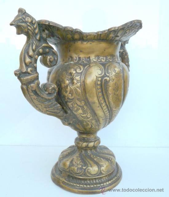 Antigüedades: FANTASTICA PIEZA DE BRONCE DEL SIGLO XVIII - 8,5 KILOS DE PESO - Foto 10 - 31311593
