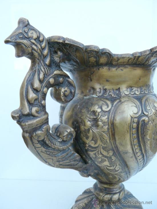 Antigüedades: FANTASTICA PIEZA DE BRONCE DEL SIGLO XVIII - 8,5 KILOS DE PESO - Foto 7 - 31311593