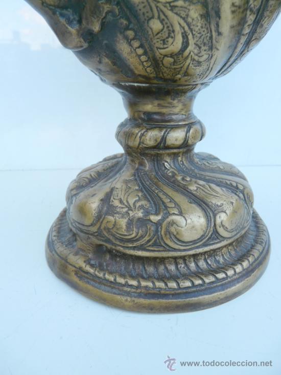 Antigüedades: FANTASTICA PIEZA DE BRONCE DEL SIGLO XVIII - 8,5 KILOS DE PESO - Foto 6 - 31311593