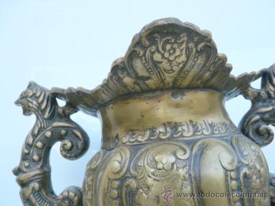 Antigüedades: FANTASTICA PIEZA DE BRONCE DEL SIGLO XVIII - 8,5 KILOS DE PESO - Foto 3 - 31311593
