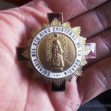 Antigüedades: PRECIOSA MEDALLA ANTIGUA ESMALTADA. Lote 31304547
