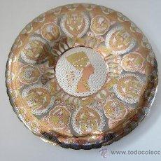 Antigüedades: PLATO DE COBRE. Lote 31314228