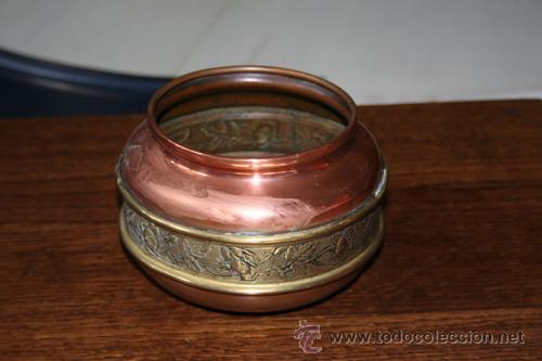 Antigüedades: FLORERO EN COBRE REF.5110 - Foto 2 - 31335447