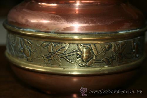 Antigüedades: FLORERO EN COBRE REF.5110 - Foto 3 - 31335447