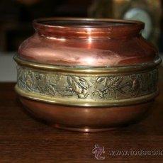 Antigüedades: FLORERO EN COBRE REF.5110. Lote 31335447