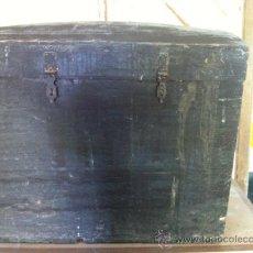 Antigüedades: BAUL DE PINO . Lote 31387069