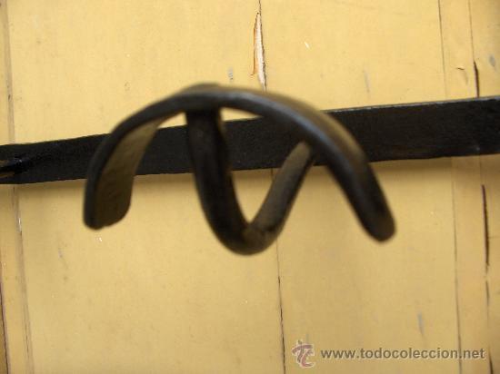 Antigüedades: perchero hecho en fragua antiguo - Foto 2 - 31349696