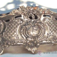 Antigüedades: ANTIGUA JARDINERA DE HIERRO FUNDIDO. Lote 31368535