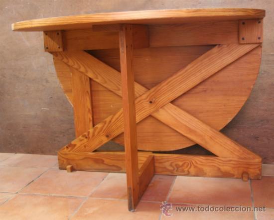 MESA MOBILA DE ALAS (Antigüedades - Muebles Antiguos - Mesas Antiguas)