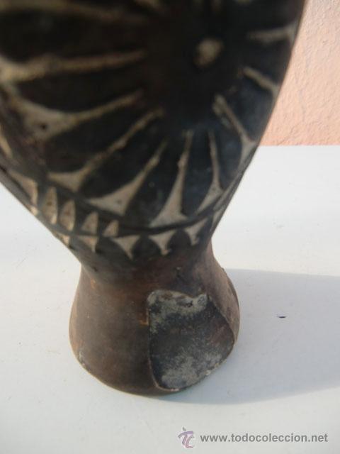 Antigüedades: Pequeño jarrón de barro - Foto 3 - 31360621