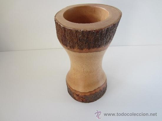 jarrn tronco madera antigedades hogar y decoracin jarrones antiguos