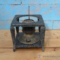 Antigüedades: HORNILLO DE PETROLEO ANTIGUO,AMBIENTE RUSTICO. Lote 31379520