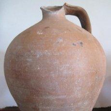 Antigüedades: CANTARO ANTIGUO EN CERAMICA SIN VIDRIAR. PROVINCIA DE TOLEDO,. Lote 31454700