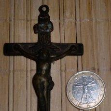 Antigüedades: CRUCIFIJO SIGLO XVIII. Lote 31466173