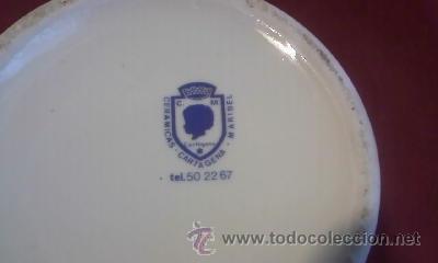 Antigüedades: Jarra de cerveza academia general de aire. Cerámicas Cartagena Maribel. - Foto 3 - 31467622
