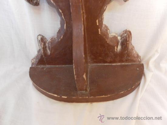 Antigüedades: Custodia – Relicario. Siglo XVIII. Metal plateado y madera. - Foto 24 - 31473790