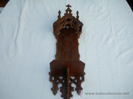 ANTIGUA CAPILLA DE PARED PARA SANTO EN TOTAL MIDE 56 CMS // VER FOTO ADICIONAL (Antiquitäten - Religiöse - Andere religiöse Antiquitäten)