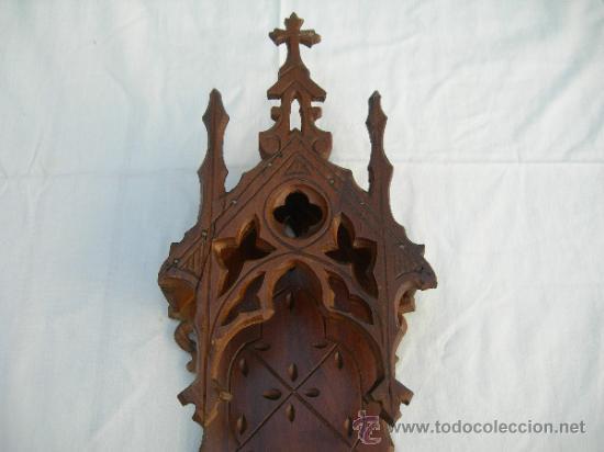 Antiquitäten: ANTIGUA CAPILLA DE PARED PARA SANTO EN TOTAL MIDE 56 CMS // VER FOTO ADICIONAL - Foto 2 - 31514493