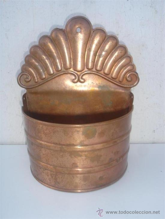 CACHARRO DE COBRE (Antigüedades - Técnicas - Rústicas - Utensilios del Hogar)