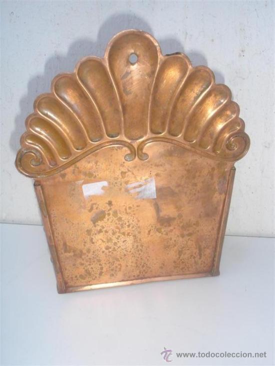 Antigüedades: cacharro de cobre - Foto 3 - 31521081