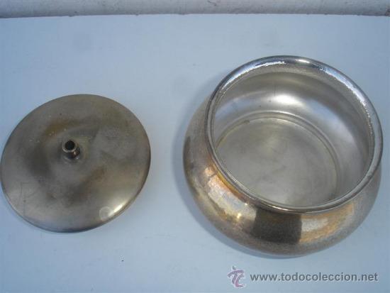 Antigüedades: azucarero de alpacar - Foto 2 - 31523254