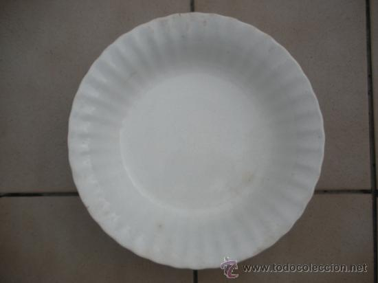 ENSALADERA DE LA CARTUJA, MEDIDAS 35 CM DE DIAMETRO Y 7,5 CM ALTURA,SIN ROTURAS (Antigüedades - Porcelanas y Cerámicas - La Cartuja Pickman)