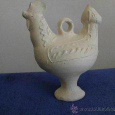 Antigüedades: ANTIGUO BOTIJO EN BARRO DE AGOST (ALICANTE). Lote 31563759