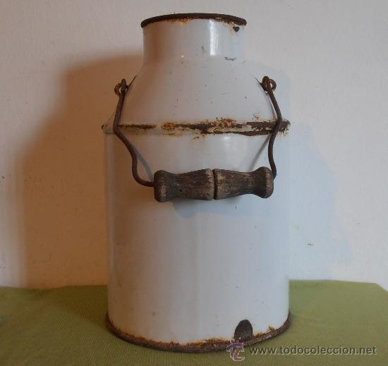 Lechera blanca de hierro esmaltado comprar utensilios for Utensilios de hogar