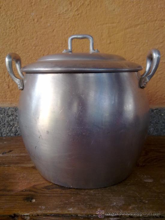 Antigua olla de aluminio comprar utensilios del hogar for Utensilios del hogar