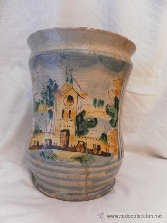 BOTE DE FARMACIA. POSIBLEMENTE ITALIANO. SIGLO XVIII. (Antigüedades - Porcelanas y Cerámicas - Otras)