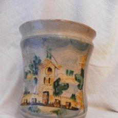 Antigüedades: BOTE DE FARMACIA. POSIBLEMENTE ITALIANO. SIGLO XVIII.. Lote 31591255