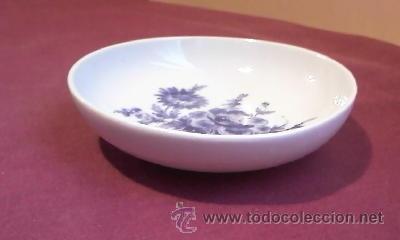 Antigüedades: Pequeño plato de porcelana.Marca DHARMA. - Foto 2 - 31594053