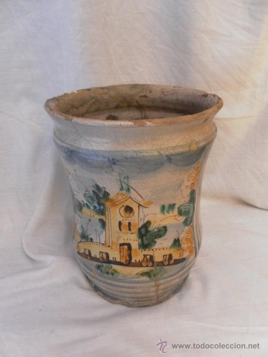 Antigüedades: Bote de Farmacia. Posiblemente italiano. Siglo XVIII. - Foto 2 - 31591255