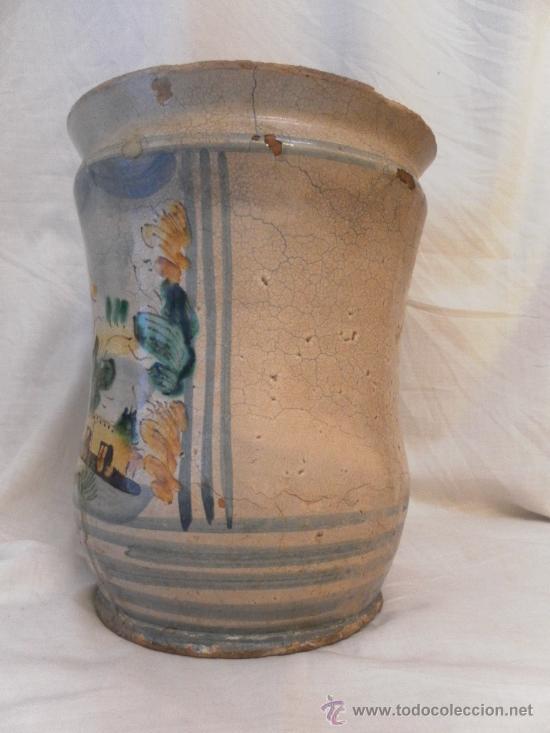 Antigüedades: Bote de Farmacia. Posiblemente italiano. Siglo XVIII. - Foto 3 - 31591255