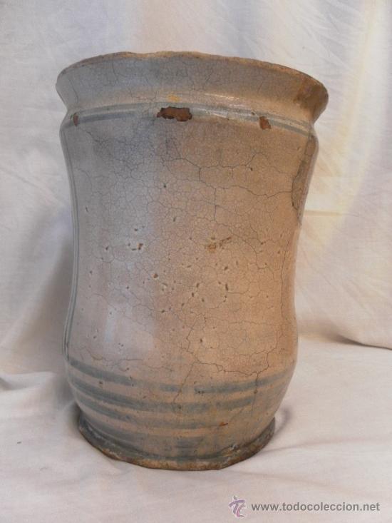 Antigüedades: Bote de Farmacia. Posiblemente italiano. Siglo XVIII. - Foto 4 - 31591255