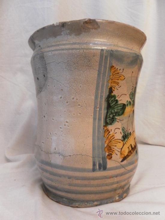 Antigüedades: Bote de Farmacia. Posiblemente italiano. Siglo XVIII. - Foto 6 - 31591255