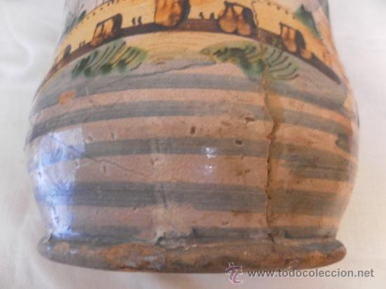 Antigüedades: Bote de Farmacia. Posiblemente italiano. Siglo XVIII. - Foto 12 - 31591255