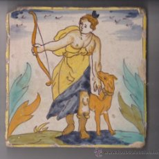 Antigüedades: BALDOSA CATALANA S.XVIII.ARTS I OFICIS. Lote 31601916