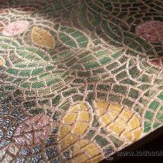 Antigüedades: AZULEJO CON MOSAICO ORIGINAL DE JORDANIA CON PLACA DE ORIGEN - !!!. Lote 31622684