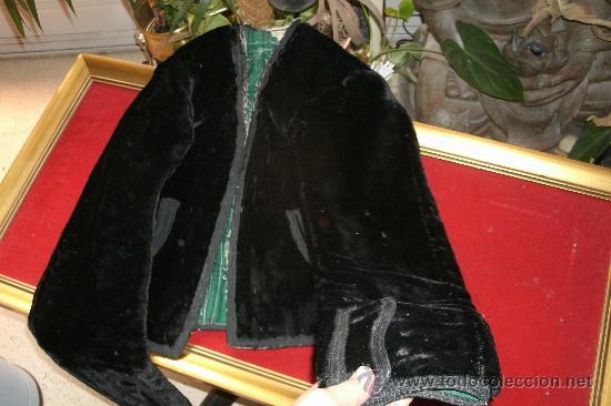 Antigüedades: ANTIGUA CHAQUETA CHARRA TRAJE TRADICIONAL-SALAMANCA-COMPLETAMENTE ORIGINAL DEL S. XIX.PIEZA DE MUSEO - Foto 13 - 31660041