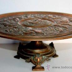 Antigüedades: FABULOSO CENTRO DE MESA FRANCES - BRONCE SIGLO XIX. Lote 31657111