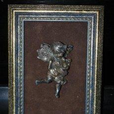 Antigüedades: ANGEL-JOYERIA ESCRICH-ALPACA PLATEADA. Lote 31667230