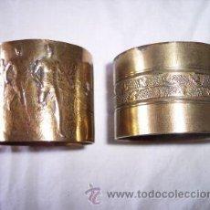Antigüedades: DOS ANTIGUOS SERVILLETEROS. Lote 31679091