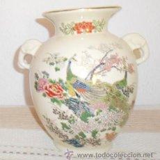 Antigüedades: JARRÓN DE PORCELANA JAPONESA. Lote 31696292